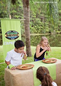 Daydreaming and Sightseeing: Survivor Party- Bella turns 10
