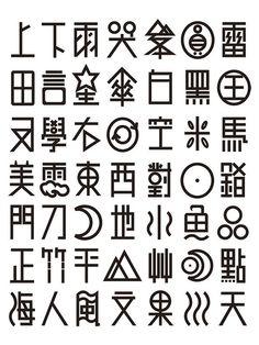 象形 漢字