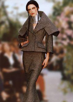 john galliano for dior 1997 princess afsharid suit