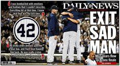 E-MO-TIONAL Tearful goodbye to Mariano Rivera at Yankee Stadium. (Click to view pics/video)