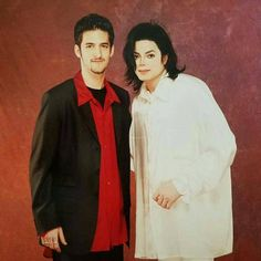 """tally777: """"Via official jonb #tbt..The and I circa 1995 by Jonathan Exley Had the honor of remixing """"You Are Not Alone"""" from The HIStory Album """""""