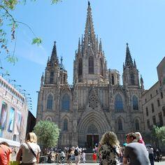 Kathedrale von #Barcelona. Gewidmet einer Märtyrerin, die von den Römern hingemeuchelt wurde. #santaeulalia