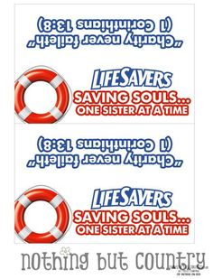 Saving Souls ... One Sister at a Time | Visiting Teaching August 2013 | Relief Society - NothingButCountry.com