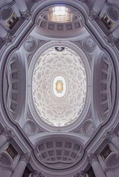 San Carlo alle Quattro Fontane, Roma (1677) - Francesco Borromini.