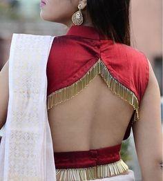 Indian Blouse Designs, Blouse Back Neck Designs, Choli Blouse Design, Simple Blouse Designs, Stylish Blouse Design, Bridal Blouse Designs, Brocade Blouse Designs, New Saree Blouse Designs, Choli Designs