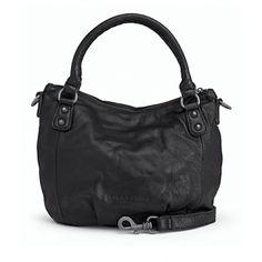 Liebeskind Gina Leather Handbag in Blackandbag in Black