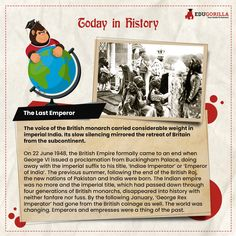 The Last Emperor #todayhistory #didyouknow #didyouknowthat #edugorilla #education #learning #students #teachers #success #inspiration #motivation #knowledge #WorldWar #WorldWar1 Today History, Last Emperor, George Vi, Affair, Students, Knowledge, Success, Motivation, Education