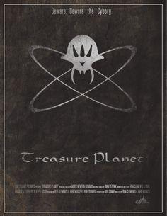 Treasure Planet Poster by Emily Akard, via Behance