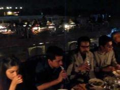 Cooco' s Den on Food Street in Lahore/Pakistan (video)