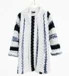Long striped jacket - SWEATERS AND CARDIGANS-GIRL | 4-14 years-KIDS | ZARA Finland