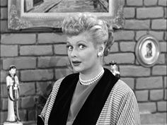 """""""Ethel, I've got an idea!"""" She has that look a lot. I Love Lucy Show, My Love, I Love Lucy Episodes, Vivian Vance, Lucille Ball Desi Arnaz, Lucy And Ricky, Classic Tv, Celebs, Celebrities"""