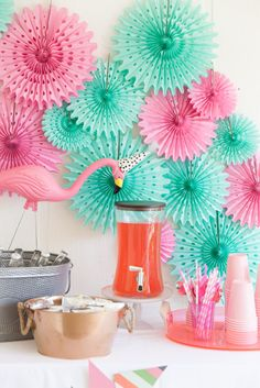 Handmade Mood | A Flamingle Birthday Party | http://handmademood.com