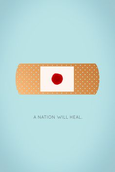 A Nation Will Heal Bruno Pieroni's design contribution to the survivors of the 2011 Japan tsunami.