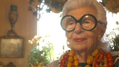 """In an exclusive NYT clip from """"Iris"""", which premieres at the NYFF this week, Ms. Apfel discusses her amber jewelry collection and the state of fashion today."""