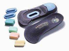 Barefoot Science Therapeutic Insole, 3/4 Medium, 2 Count by Barefoot Science. $88.17. Barefoot Science provides the safe and natural neuromuscular stimulation required for optimal foot dynamics in response to increased activity levels, regardless of activity. The Barefoot Science patented arch activation foot strengthening insole system is designed to gently work and rehabilitate the weak foot musclesand lazy arches that are often the cause of foot -related problems and pai...