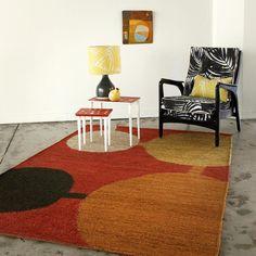 spotcheck warm woven hemp rug  www.clothfabric.com
