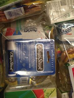 Care Packages - premake for homeless people & others who might need a little help