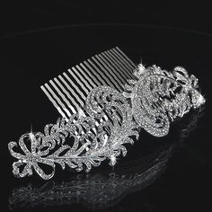 Free Shipping 2013 New Arrival Rhinestone Elegant Wedding Hair Combs / Bridal Hair Combs $12.99