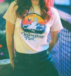 70s Vintage YELLOWSTONE PARK Tee