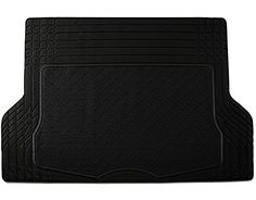 Johns FML-21 (Trunk Liner) Black All-Weather Rubber Floor Mats. For product info go to:  https://www.caraccessoriesonlinemarket.com/johns-fml-21-trunk-liner-black-all-weather-rubber-floor-mats/