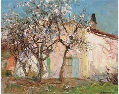 Louis Bonamici, Arbres en fleurs