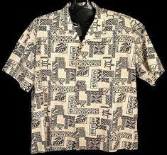 da81dd78 Ho Aloha 4XL Button Front Shirt Short Sleeves Turtles Tribal Coconut Buttons.  Mens Hawaiian ShirtsButton DownsButton ...