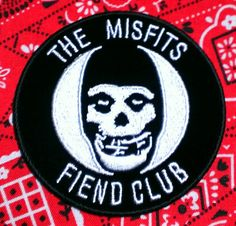 Vintage  ''The Misfits Fiend Club by LostThenFoundPatches on Etsy