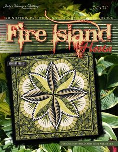 Fire Island Hosta Pattern CVQW again! I love this one and I want to make it!