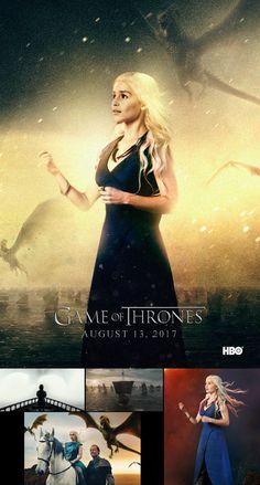 Daenerys Targaryen - Game of Thrones FAN ART by WRibeiro.deviantart.com on @DeviantArt