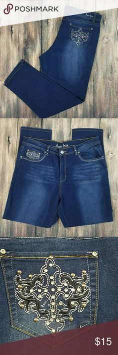 Arco Iris Jeans Like new condition! Stretchy material ! No missing rhinestones. BUNDLE to receive a better deal  Fast shipping Arco Iris Jeans Boot Cut
