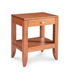 Justine Nightstand Table From Simply Amish Furniture