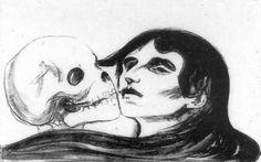 The Kiss of Death, Edvard Munche 1899.