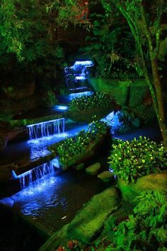44 gorgeous backyard ponds and water garden landscaping ideas 11 Trip To Colombia, Colombia Travel, Love Garden, Water Garden, Beautiful Landscapes, Beautiful Gardens, Pond Waterfall, Water Features In The Garden, South America Travel