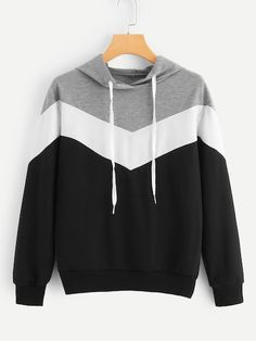 Shop Cut And Sew Drawstring Hoodie online. SheIn offers Cut And Sew Drawstring H. - Shop Cut And Sew Drawstring Hoodie online. SheIn offers Cut And Sew Drawstring Hoodie & more to fit your fashionable needs. Source by mariefehler - Pullover Hoodie, Hoodie Sweatshirts, Sweater Hoodie, Trendy Hoodies, Cool Hoodies, Casual Outfits, Girl Outfits, Fashion Outfits, Moda Emo