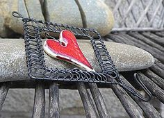 Nábytok - Vešiak, čo má srdce - 4182386_ Personalized Items, Wire