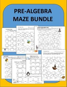 maze activities! Students love the fun twist on a boring old worksheet ...