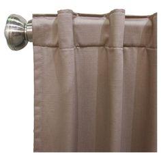 "Shantung Blackout Curtain Panel Gray (50""x108"") - Skyline Furniture"