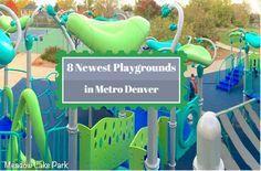 8 new playgrounds in metro Denver