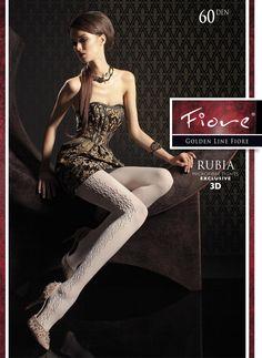 RUBIA 60den. Superbe collant glamour, chic et confortable, épais, opaque et chaud.