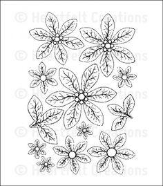Heartfelt Creations - Cling Stamp - Christmas Poinsettia,$15.99