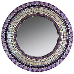 "Amethyst Beige Mirror 13"", now featured on Fab."