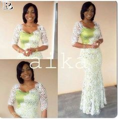 Stylish Aso-Ebi , Super Styles for 2018 - Reny styles African Dresses For Women, African Print Dresses, African Attire, African Wear, African Fashion Dresses, African Women, African Prints, African Inspired Fashion, African Print Fashion