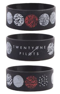 Officially Licensed Twenty One Pilots Global Wristband