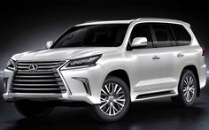 Best 8 Seater Suv Lexus LX570 Cars Pinterest