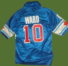 NASL Soccer Vancouver Whitecaps 84 Road Jersey Peter Ward Back