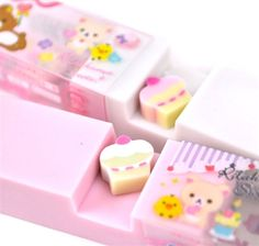 Scented Erasers - Rilakkuma's Pastry Paradise Scented Erasers | CoolPencilCase.com