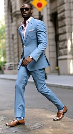 Mtm) tapered baby blue suit in 2019 Rugged Style, Style Men, Men's Style, Sneakers Mode, Sneakers Fashion, Fashion Boots, Fashion Rings, Fashion Clothes, Fashion Hair