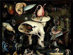 Hieronymus Bosch (El Bosco)nEl jardín de las delicias