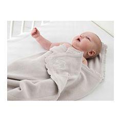 ÄLSKAD Manta para bebés, gris - IKEA