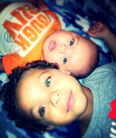 Sister and brother.  Mix.  Beautiful